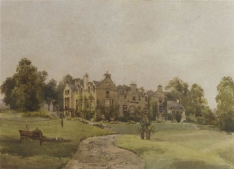 blanerne house berwickshire by amy sandys lumsdale