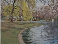 boston public garden by jane ritchie