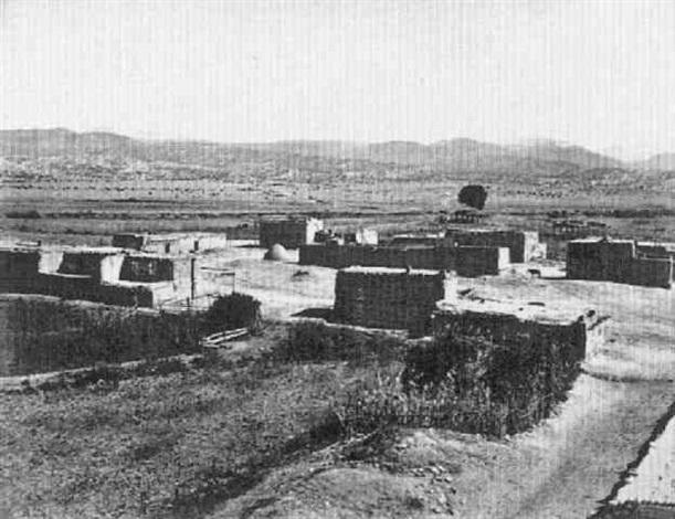 pueblo de nambe by john k hillers