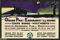 grand prix d'endurance de 24 heures/coupe rudge - whitworth by h.a. volodimer
