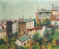 maisons sur les hauteurs de montmartre by elisée maclet