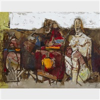 fertility by maqbool fida husain