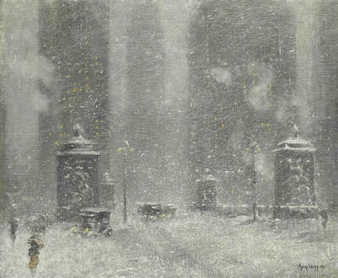 chicago blizzard by guy carleton wiggins