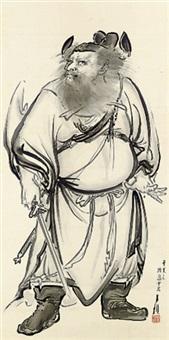 shoki zu - shoki, the demon queller by ogata gekko