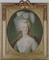 portrait of marie-antoinette, queen of france by joseph boze