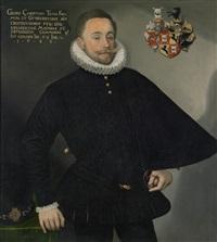bildnis des georg christoph teufel, freiherr zu gundersdorff (guntersdorf) by austrian school (16)