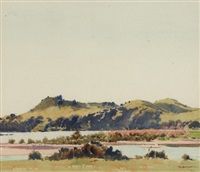 landscape by george courtney benson
