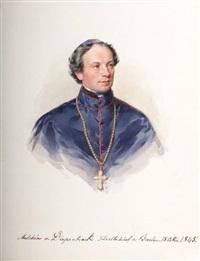 freiherr melchior von diepenbrock, fürstbischof von breslau, baron melchior de diepenbrock, prince évêque de breslau by leopold fischer