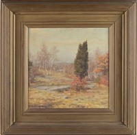 fall landscape by wallace bryant