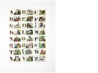 alphabet (set of 26) by peter blake