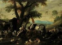 orfeo tra gli animali by antonio maria vasallo