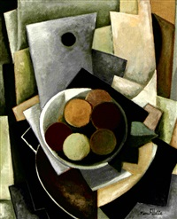 composition cubiste by pierre fillette
