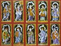 sibylles, prophètes et saints by léonard limosin