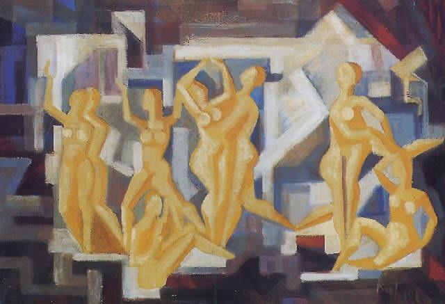 táncolók by viktor rafael gyözö