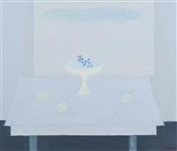 blue still life by jan hoogsteyns