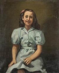 retrato de niña by ricardo macarrón