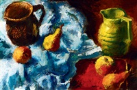 still-life with fruits by andor basch