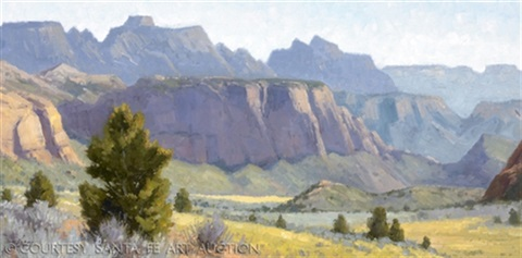 from the kolob terrace road zion nationl park ut by ralph oberg
