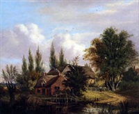 a cottage in a wood by james stark