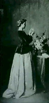 jeune femme effeuillant une marguerite by louis-charles-auguste couder