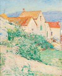 hillside houses, mass. by william chadwick