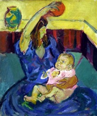 playing baby by simon claude (vanier) abramovitsch