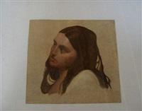 tête de femme (study) by alphonse henri perin