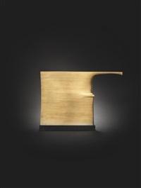 slim bronze/hatchet form by robert adams
