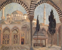 la mosquée de fatithe by marcel amiguet