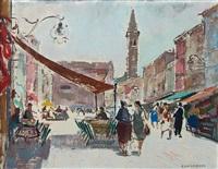 piazza galuffi, burano by silvio consadori