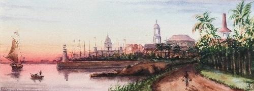 port de la havane by anna maria quemare