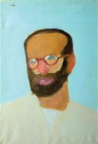 bearded figure by ori reisman