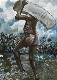 le porteur de farine, matadi by moseka yogo ambake