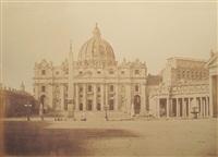 piazza di san pietro in vaticano (+ 3 others; 4 works) by tommaso cuccioni