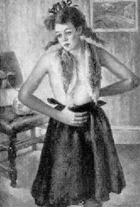 pigtail tweedy by anna elkan meltzer