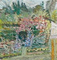 jardin en fleurs by gilbert corsia