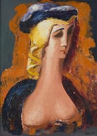 portrait of a woman by alexander archipenko