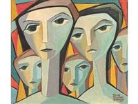 five figures by bettie cilliers-barnard