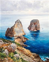 the coast of capri by michele federico