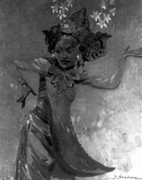 ballet balinese by dorothy newsome
