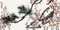 松梅图 by deng lin