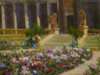 hall of flowers, panama-pacific international exposition by e.charlton fortune