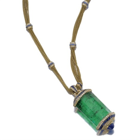 pendant necklace by hemmerle