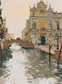 the ospidale s. giovanni & paolo, venice by ken howard
