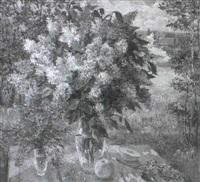 nature morte aux lilas by kapitolina rumyantseva