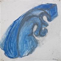blå figur by torsten andersson
