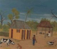 conversation entre la vache et le chien by télémaque obin
