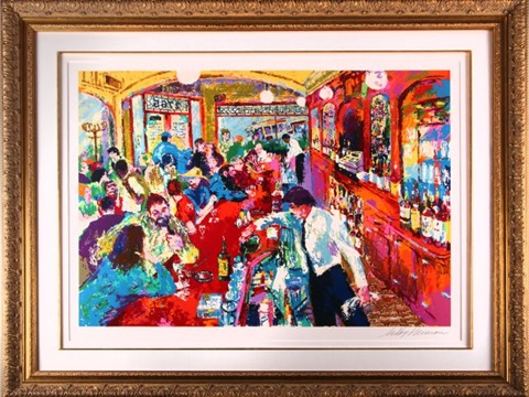 buena vista bar by leroy neiman