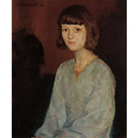 portrait of doti by charles webster hawthorne
