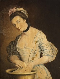 maria gunning, lady coventry by henry robert morland